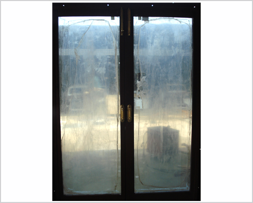 Bullet Proof Cladding Work - Door - Window